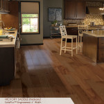 Hardwood Flooring - Hickory Saddle